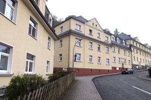 Wohnanlage im Stadtteil Tannendorf, Greiz